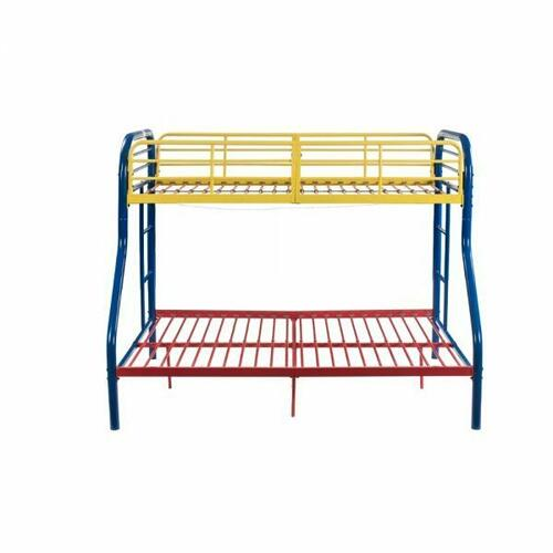 ACME Tritan Twin/Full Bunk Bed - 02043RNB - Rainbow