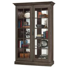 See Details - Howard Miller Clawson III Curio Cabinet 670022