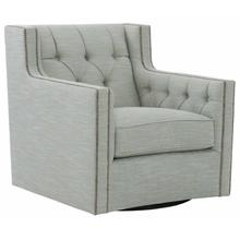 View Product - Candace Swivel Chair in #44 Antique Nickel