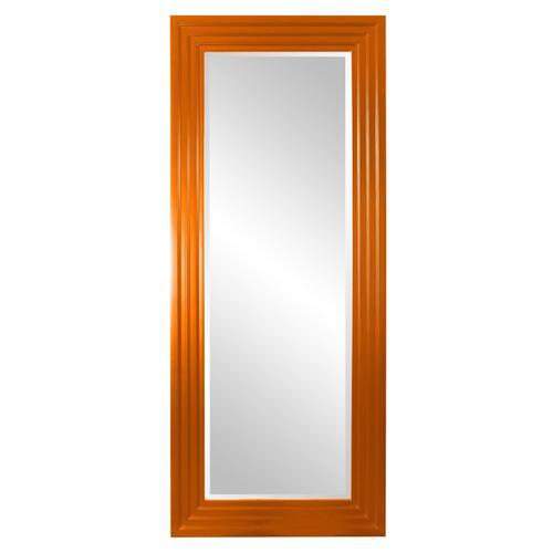 Howard Elliott - Delano Mirror - Glossy Orange