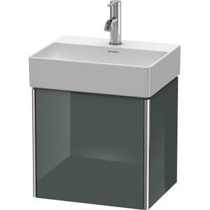 Vanity Unit Wall-mounted, Dolomiti Gray High Gloss (lacquer)