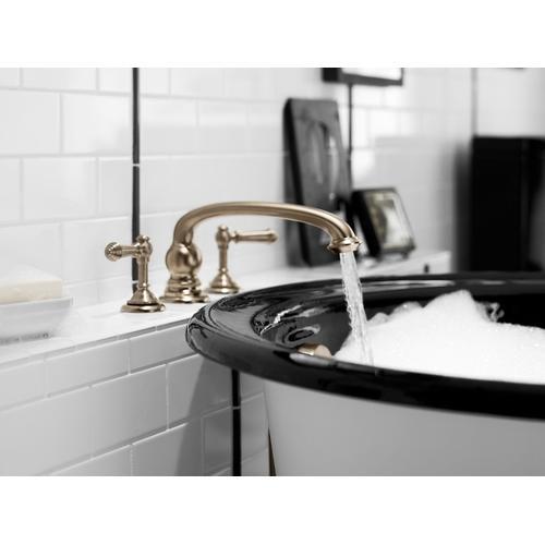 Kohler - Vibrant Brushed Nickel Deck-mount Bath Lever Handle Trim