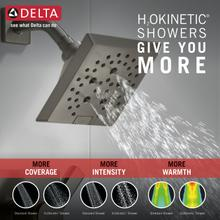 Black Stainless Monitor ® 14 Series H2Okinetic ® Shower Trim