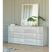 See Details - Nova Domus Asus - Modern Italian Dresser & Mirror Set