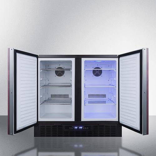 """Product Image - 36"""" Wide Built-in Refrigerator-freezer"""
