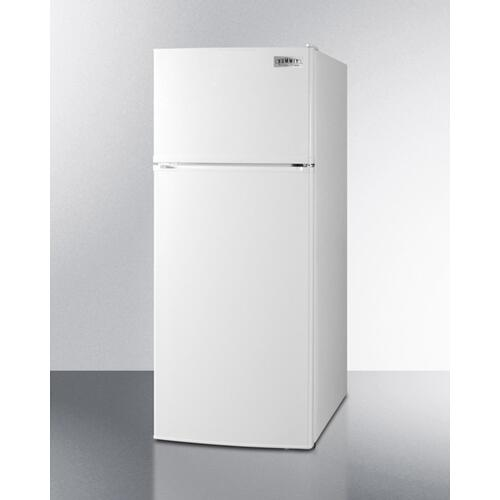 Energy Star Qualified ADA Compliant Refrigerator-freezer In White With Frost-free Operation