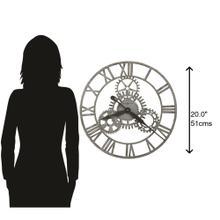 Howard Miller Sibley Oversized Iron Wall Clock 625687