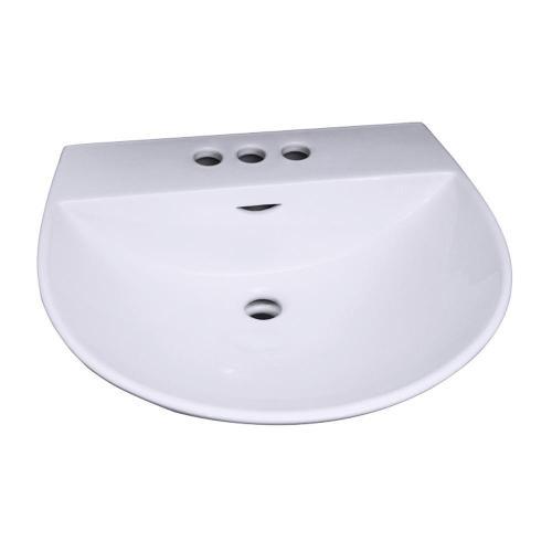 "Product Image - Reserva 550 Wall-Hung Basin - 4"" Centerset"
