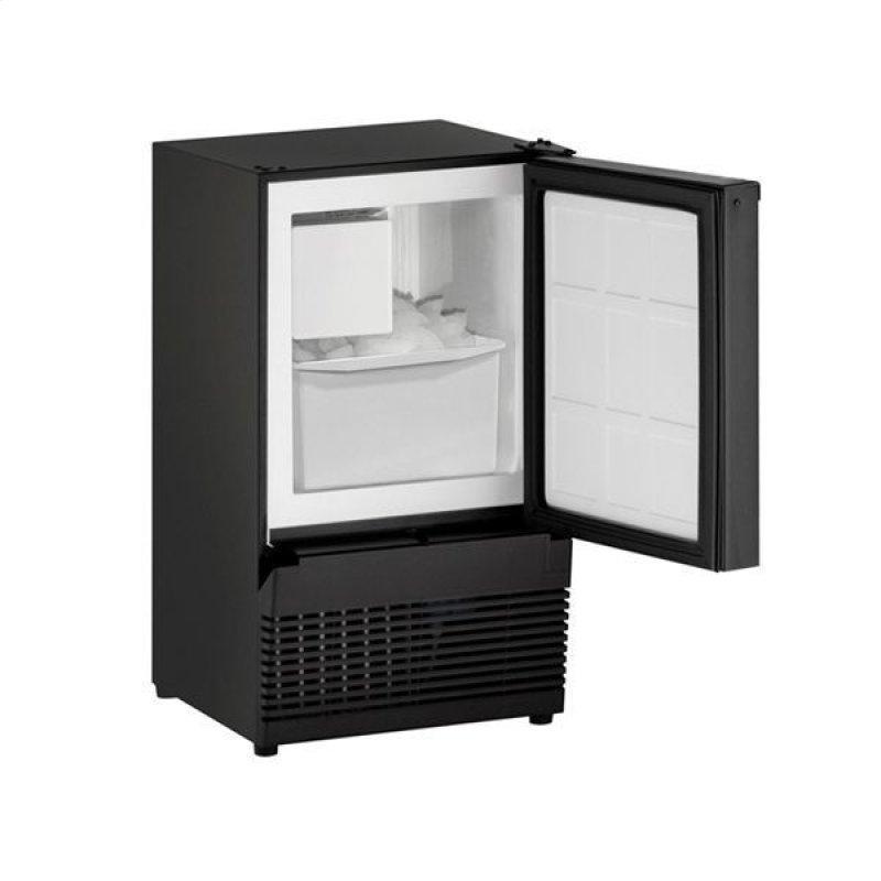 """Bi95 14"""" Crescent Ice Maker With Black Solid Finish (115 V/60 Hz Volts /60 Hz Hz)"""