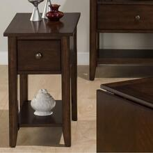 View Product - Chairside Table W/ Drawer and Shelf