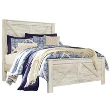 Bellaby Queen Panel Footboard Whitewash