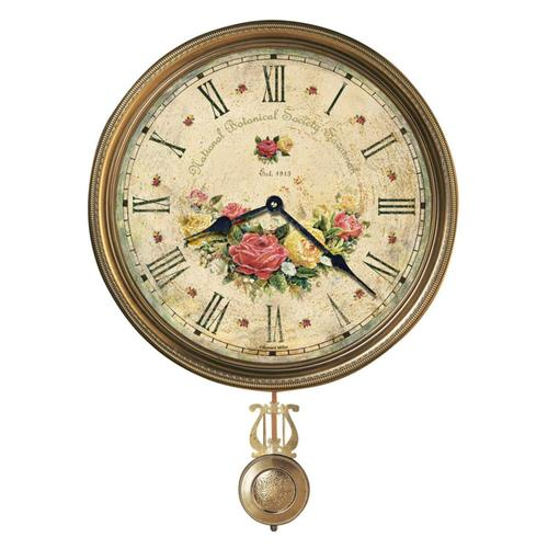Howard Miller Savannah Botanical VII Wall Clock 620440