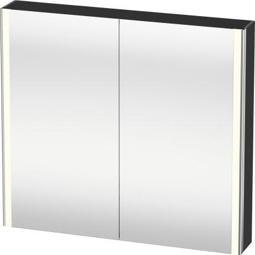 Duravit - Mirror Cabinet, Graphite Matte (decor)