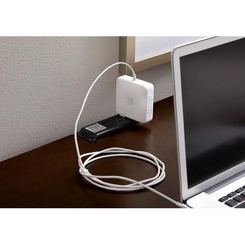 Vaughan-Bassett - 2-Drawer Laptop/Tablet Desk with Charging Station