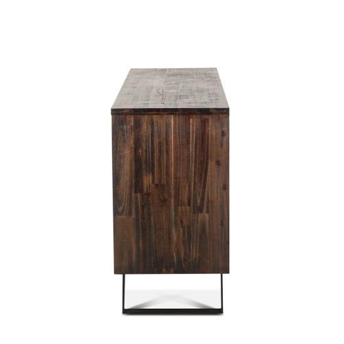"Urban Loft 63"" Sideboard Dark Brown"