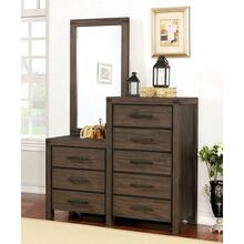 Rexburg 8-Drawer Dresser Mirror