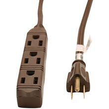3-OUTLET GROUND EXT CORD