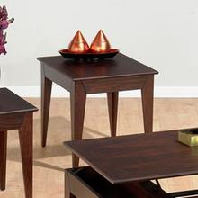 End Table W/ Fancy Oak Veneer Top