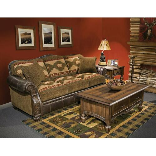 Pine Creek (Leather) Sofa