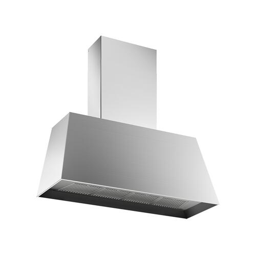 48'' Contemporary Canopy Hood, 1 motor 600 CFM Stainless Steel