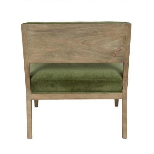 Zane Accent Chair Green