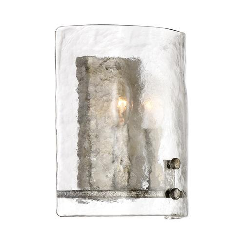 Quoizel - Fortress Wall Sconce in Mottled Silver