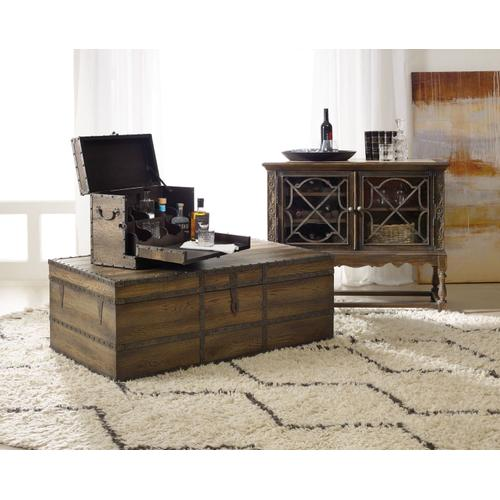 Living Room Pinta Trail Strong Box Cocktail Table
