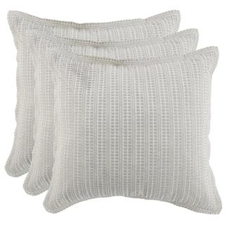 Mason Taupe 3Pc Euro Sham Set