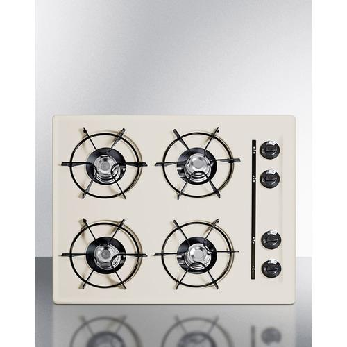 "Summit30"" Wide 4-Burner Gas Cooktop"