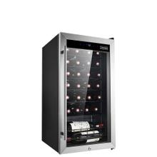 View Product - Freestanding Wine Cellar 28 Bottles Capacity - Single Zone With Compressor