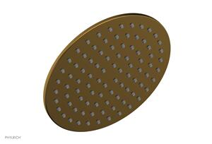 "8"" Round Shower Head 3-334 - French Brass Product Image"