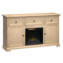 See Details - FT72B Extra Tall Fireplace Custom TV Console