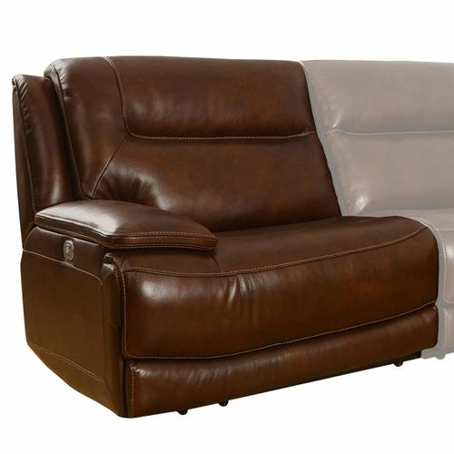 Parker House - COLOSSUS - NAPOLI BROWN Power Left Arm Facing Recliner