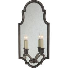 View Product - E. F. Chapman Sussex 2 Light 10 inch Sheffield Nickel Decorative Wall Light