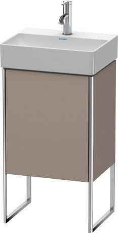 Vanity Unit Floorstanding, Basalt Matte (decor)