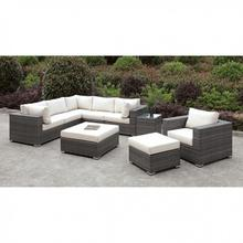 See Details - Somani L-sectional + Chair + 2 Ottomans