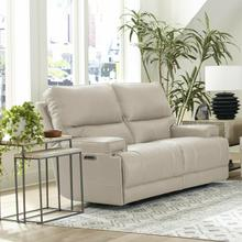 See Details - WHITMAN - VERONA LINEN - Powered By FreeMotion Power Cordless Loveseat