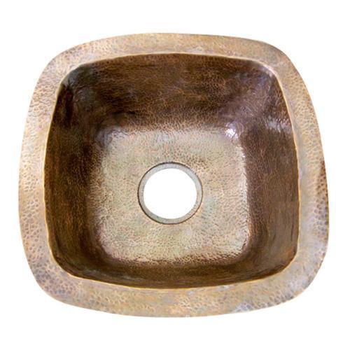 "Barclay - Trent 16"" Copper Bar u0026 Prep Sink - Antique Copper"