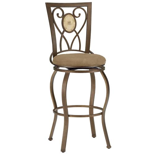 Hillsdale Furniture - Brookside Oval Back Swivel Counter Stool