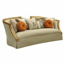 ACME Daesha Sofa w/8 Pillows - 50835 - Fabric & Antique Gold