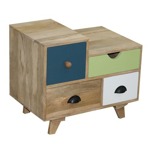 Progressive Furniture - Nightstand - Natural/Multi Finish