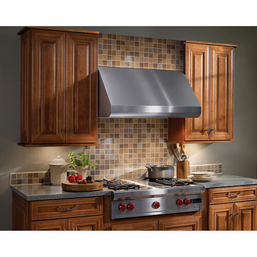 Broan Elite E60 Pro-Style 42-Inch Canopy Wall-Mount Range Hood, 1200 CFM Internal Blower, Stainless Steel