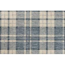 Elegance Plaid Chic Pldch Denim Broadloom Carpet