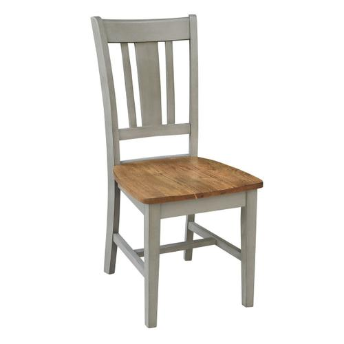 San Remo Chair inHickory Stone