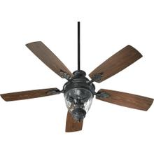 See Details - Georgia 52-in Old World Indoor/Outdoor Ceiling Fan (5-Blade)