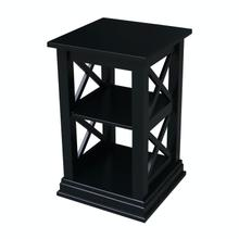 See Details - Hampton Accent Table in Solid Black