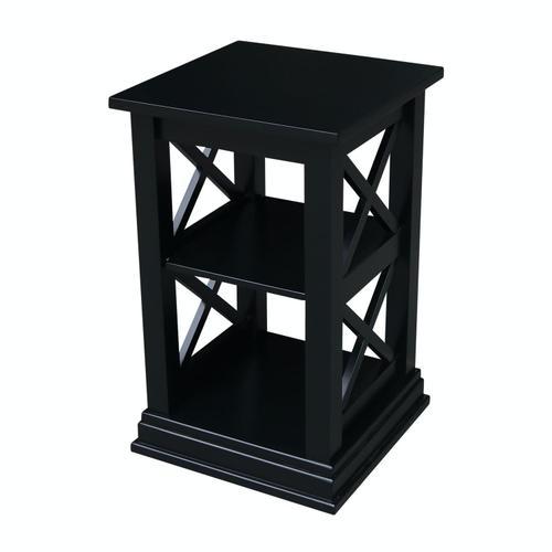 John Thomas Furniture - Hampton Accent Table in Solid Black