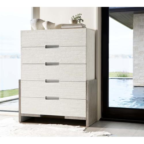 Foundations Tall Drawer Chest in Linen (306), Light Shale (306)