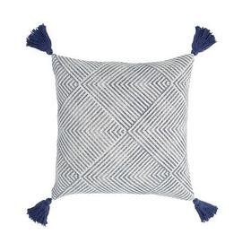 Tanner Pillow Cover Navy