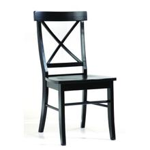 X-Back Chair in Black